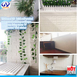 Thickened 3D Bricks Self Pasted Waterproof Soft Bag Wallpaper Bedroom Living Room TV Background Wall Sticker