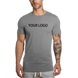 3d0146ce0 Factory Cheap Tshirt Short Sleeve Round Neck 100% Cotton Custom Silk Screen  Printing Design White