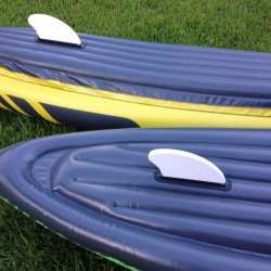 River Sport Whitewater Inflatable Life Raft with PVC Material