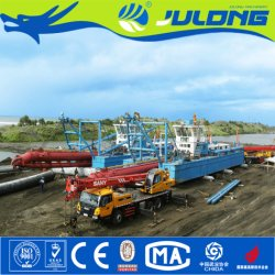 China Factory Julong Sand/Mud Cutter Suction Dredger/Machine