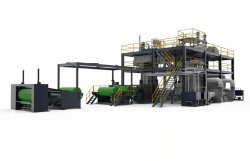 Best Sale Non-Woven Equipment with Double Beam