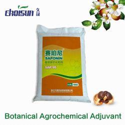Botanical Agrochemical Adjuvant Sap95 Tea Saponin Powder
