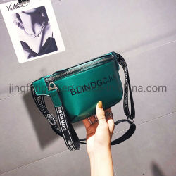 Trending New Fashion PU Leather Hip-Hop Sports Chest Bag Fanny Pack Waist Pouch Bag