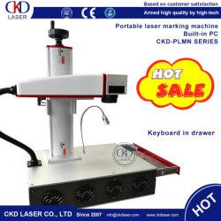 Auto Focusing Fiber Laser Marking Machine for Metal Plastic Jewelry PE PVC PCB Non-Metal Logo Mark Engraving