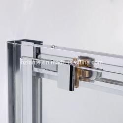 CE Certified European Design Square Sliding Bathroom Shower Cabin with Toughen Glass (L5502-B)