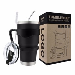 8e472917daf 20oz and 30oz Double Wall Stainless Steel Vacuum Insulated Reusable Coffee  China Yeti Price Sippy Cup