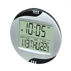 Promotional LCD Table Calendar Clock