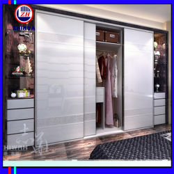 High Glossy Sliding Door Wardrobe (ZH0053)