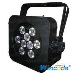 Wifree Magicube T9/Q9/F9/X9 / Battery Wireless LED Flat PAR / LED Event Light