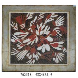 Handmade Modern Realism Large Flower Oil Painting on Canvas (LH-702518)