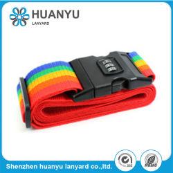 Wholesale Personalized Silk-Screen Printing Nylon Luggage Belt Strap