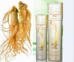 Top 100% Natural Ginseng of Activity Shampoo,Prevent White Hair Dryness,Loss,Make Hair Soft and Glossy,Nourish Hair to Prevent Scalp Itching, Antibacter EU SGS