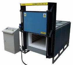 1200c 96liters High Temperature Electric Muffle Furnace for Heat Treatments