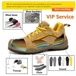 Young Generation Branded Fashion Men Leather Casual Sports Work Safety Military Shoes