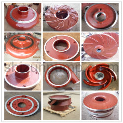 High Chrome Horizontal Centrifugal Slurry Pump Parts