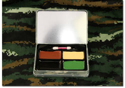 Military Tactical Outdoor 3-4 Colours Camouflage Bionic Facial Makeup Painting Oil