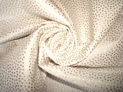 Silver Bronzing Cotton Cloth for Woven Dresses
