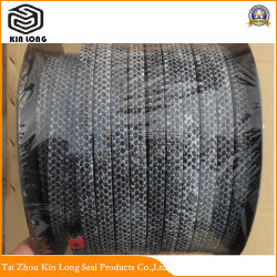 Carbon Fiber Packing Ring; Braided Packing Thread Seal for Power Station Carbon Fiber Graphite Gland Packing Stufing Box