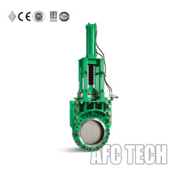 Ductile Iron Kgd Heavy Duty Slurry Knife Gate Valve with Manual Operation