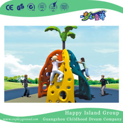 Colorful Plastic Triangle Climbing Frame Kids Outdoor Toy Hj 19203