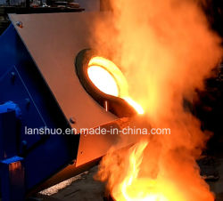 Medium Frequency Small Induction Melting Furnace for Steel Copper Gold