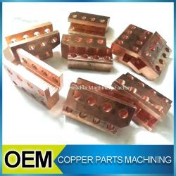 CNC Processing Red Copper Bronze Machining Small Accessory
