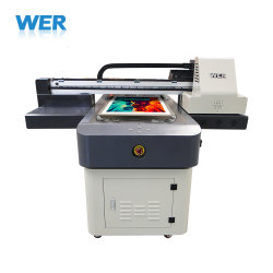 Best Digital Flatbed Direct to Garment T-Shirt Printer for Sales Wer-ED6090t