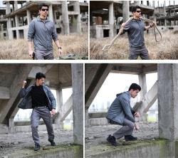 Green Men's Hiking Camping Jackets Thin Sports Skin Clothing Apparel