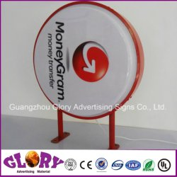 Outdoor LED Light Box Vacuum Formed Lighting Sign