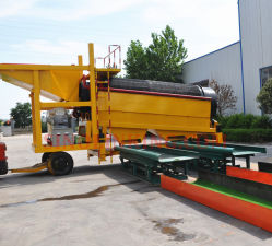 Alluvial Wash Plant Gold Extraction Machine