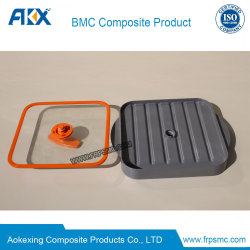 BMC Red Compression Mould Products for Baking Tray Oven Application