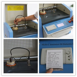 Hzjd-2 Automatic Oil Dissipation Factor (Tan-delta) and Resistivity Test System