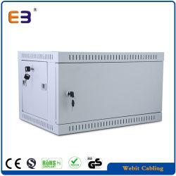 """545mm 19"""" Solid Metal Door Wall Mount Network Cabinet"""