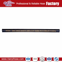 Wholesale Cheapest Price Braided Anti-Aging Rubber Hydraulic Hose R2 Factory