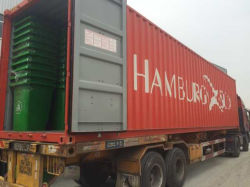 40'hq Basis Plastic Trash/Dust/Waste Container/Bin/Can 360liter