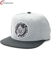 Popular Heather Grey Hip Hop Snapback Sports Cap