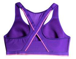 Women Plus Size Wireless Front Zipper Sports Vest