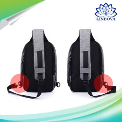 Anti Theft Single Shoulder Strap Travel Bag Chest Pack with USB Charging Function