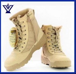 New Arrival Skid Resistance Tactical Army Military Combat Boots (SYSG-114)