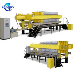 Slurry Filter Cloth Mud Dehydrated Box Chamber Filter Press Machine