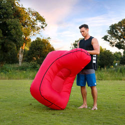 Factory Wholesale Fast Inflatable Filling Sports Lazy Bag