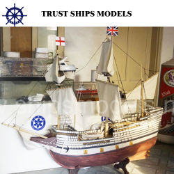 Chinese Customized Handmade Wooden Model Boat