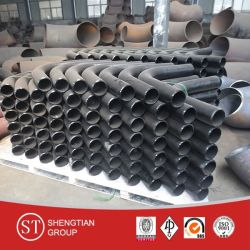 AISI 1020 Butt Welded Seamless Steel Pipe Bend