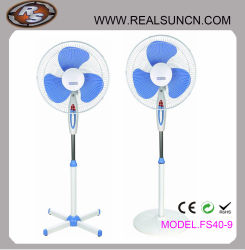 16'' Electrical Stand Fan with Light Factory Direct Selling