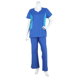 Doctor Nurse Men's Lay's Scrubs Work Wear Uniform