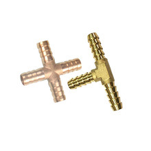 4 Way Brass Cross Fitting/ Pex Plumbing Pipe Fitting for PVC Pipe