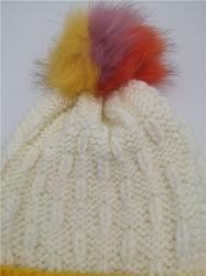 Women's Colorful Fashion Stripe Fancy Knitted Hat