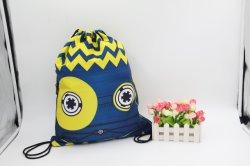 Huado Colorful Drawstring Bag Waterproof Travel Backpack Sport Gym Bag Yoga Runner
