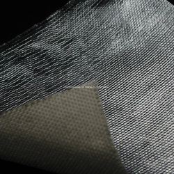 High Temperature Glass Fiber Fabric Jacket with Aluminum Foil