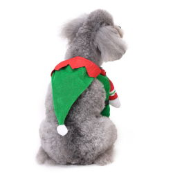 Christmas Pet Clothes Costume Garments Suits for Dogs and Cats